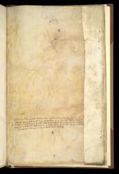 Added Inscription: The Pawning Of This Manuscript Of Peter Lombard, Commentary On The Psalms